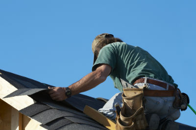 Install Roofing Under Layer