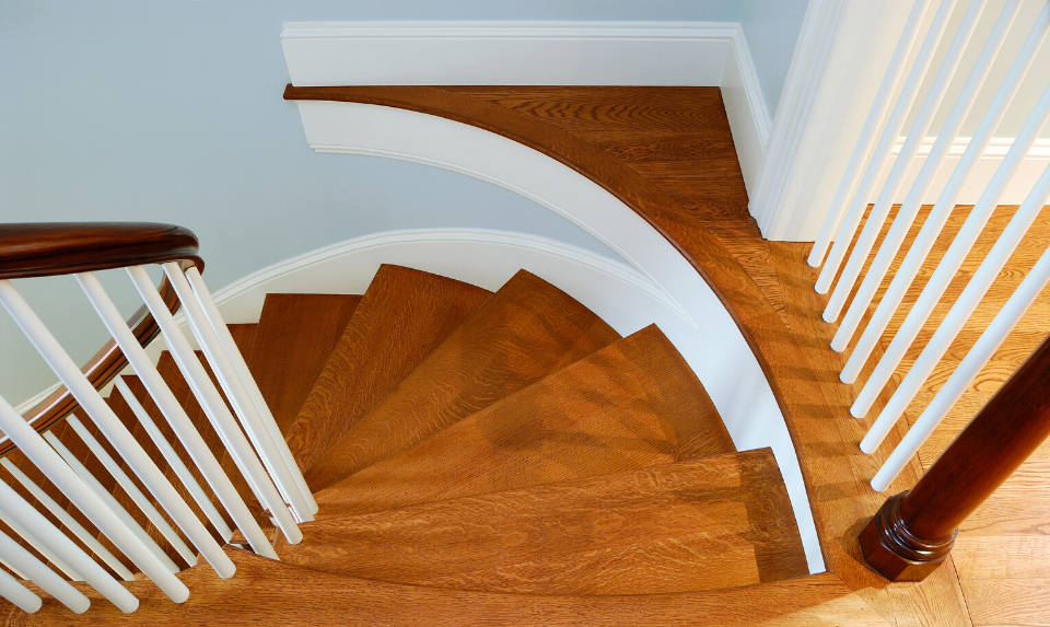 engineered hardwood stairs