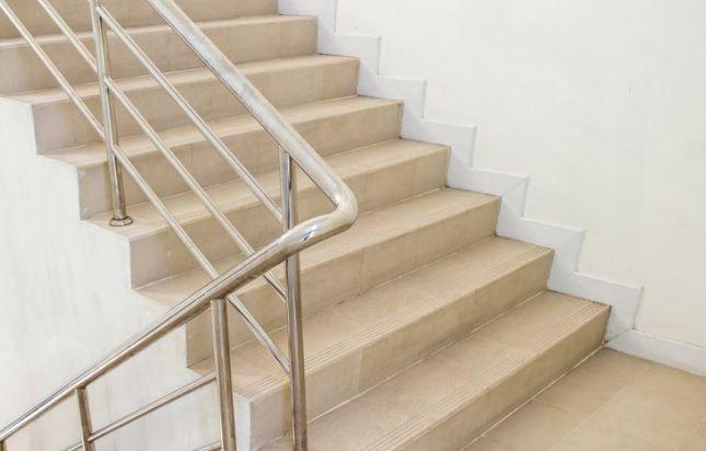 Use stairways.