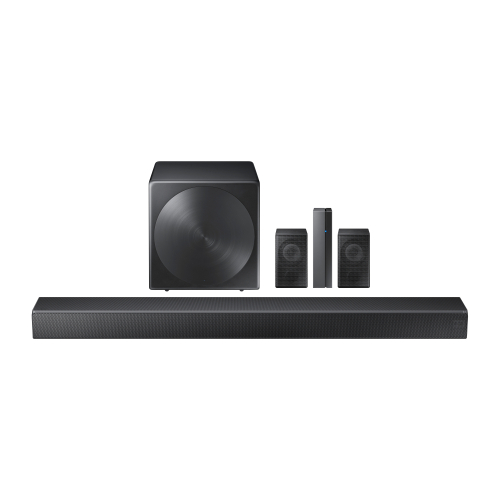 Choose a 5.1 speaker channel system to complete your apartment audio video setup.