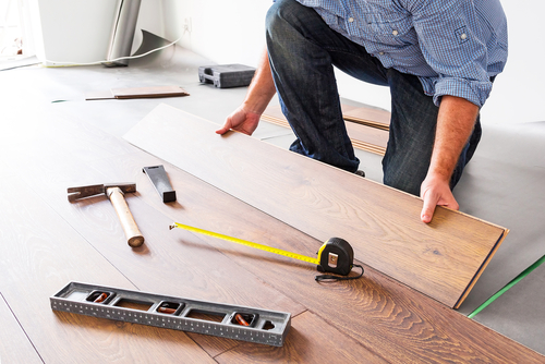 Professional flooring installers have the knowledge and equipment needed to finish the job.