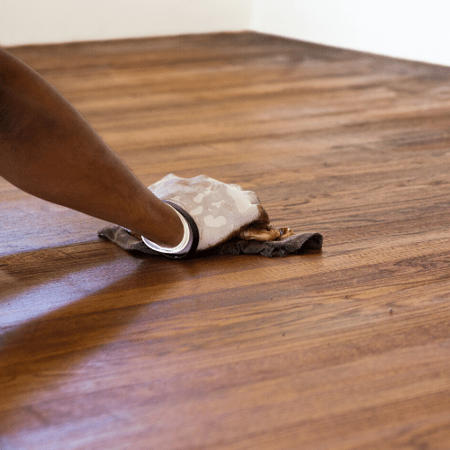Wood floor installers are highly trained.